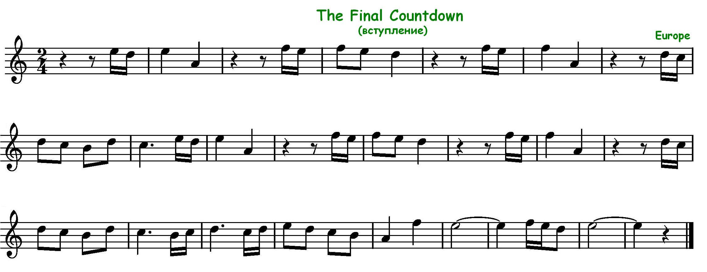 The final countdown piano tutorial with chords both hands kabar final countdown on keyboard submited images hexwebz Gallery